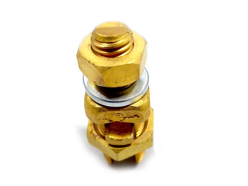 8 Splitbolt de bronce con espárrago
